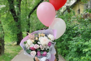 "Flower salons ""Florio"".Delivery of original bouquets in Almaty!"